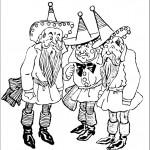 דף צביעה הקוסם מארץ עוץ 3