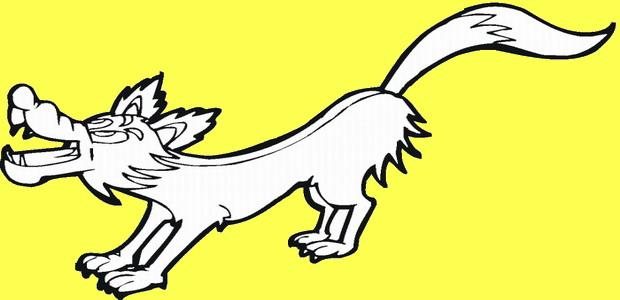 לחצו על דפי הצביעה של זאבים להגדלה ולהדפסה