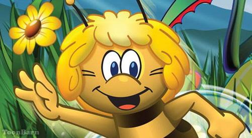 כנסו לסרטון הדבורה מאיה לחצו על דפי הצביעה של הדבורה מאיה להגדלה ולהדפסה