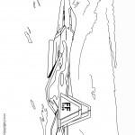 דף צביעה מטוס קרב