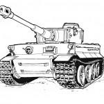 דף צביעה טנק 1