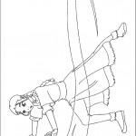 דף צביעה אווטאר 40