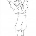 דף צביעה אווטאר 35