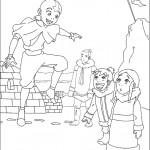 דף צביעה אווטאר 34