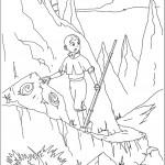 דף צביעה אווטאר 26