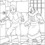 דף צביעה אווטאר 22