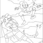 דף צביעה אווטאר 10