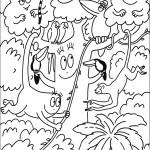 משפחת ברבאבא בחברת חיות הג'ונגל