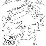 משפחת ברבאבא משחקת עם דובי הקוטב