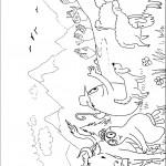 דף צביעה ברבאבא וברבאמא בחווה