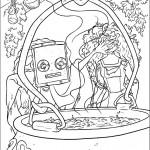 דף צביעה מרידה והמכשפה