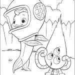 דף צביעה קירבי ודג-מחוץ-למים