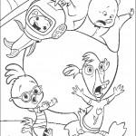 דף צביעה צ'יקן ליטל 4