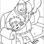 דף צביעה פלינט ואביו טום