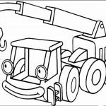 דף צביעה משאית גרר