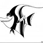 דף צביעה הדג טד