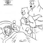 דף צביעה מי ישן במיטתנו