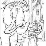 דף צביעה הפיל אלי ואדי