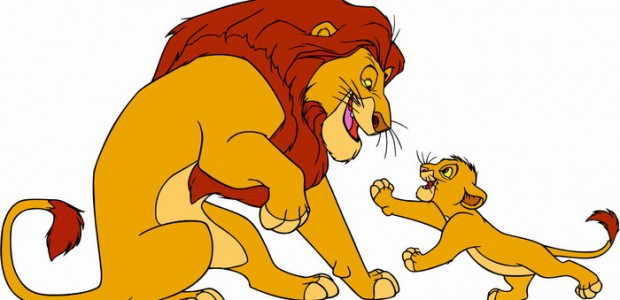 כנסו לסרטון מלך האריות לחצו על דפי הצביעה של מלך האריות להגדלה ולהדפסה