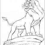 דף צביעה סקאר, דודו של סימבה