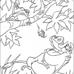 דף צביעה טימון זורק חיפושית לפומבה