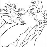 דף צביעה מלך האריות 4
