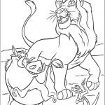 דף צביעה מופסה, פומבה וטימון