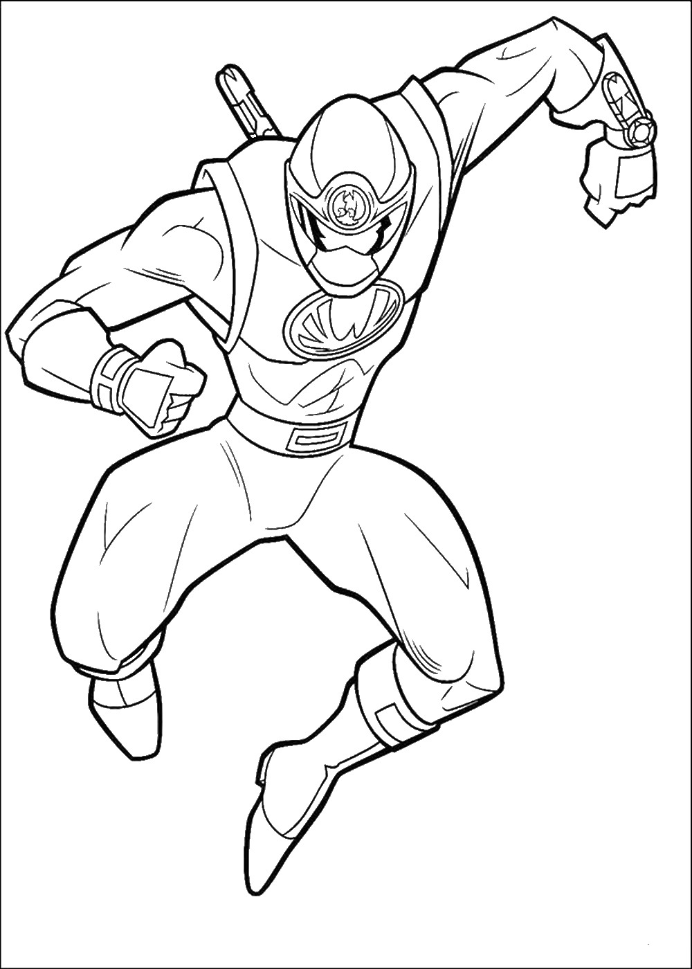 lego power rangers samurai coloring pages -