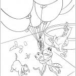 דף צביעה הנסיכה והצפרדע 9
