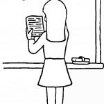 דף צביעה לומדים חשבון