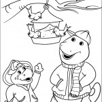 דף צביעה ברני, בופ ותוכים מחוץ לכלוב