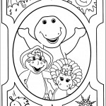 דף צביעה ברני וחבריו הטובים