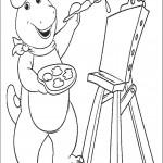 דף צביעה ברני מצייר