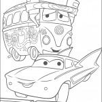 דף צביעה פלו ופילמור המכונית ההיפית