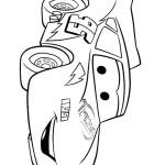 דף צביעה המכונית ספידי מקווין