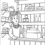 דף צביעה דיליס פרייס בחנות המכולת