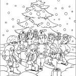 חוגגים את חג המולד בתחנת הכיבוי