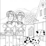 דף צביעה סם, אלביס והכלב רקסי