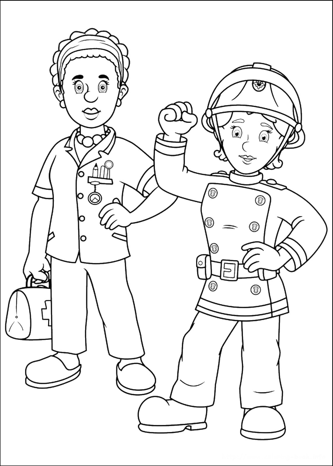 Fireman Sam Coloring Pages Coloring Pages Fireman Sam Coloring Pages