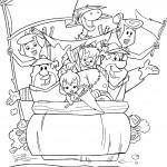 דף צביעה משפחות קדמוני וראבל בבילוי משותף