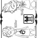 דף צביעה המפלצות וולי ווינבור
