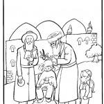 דף צביעה חלקה בהר מירון