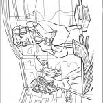 דף צביעה הנסיכה והאויב שלה