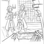 דף צביעה שני הקפטנים משוחחים