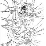 דף צביעה אליזבט מגישה לג'ק כד מים