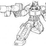 דף צביעה רובוטריקים 43