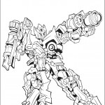 דף צביעה רובוטריקים 32