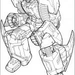 דף צביעה רובוטריקים 30