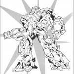 דף צביעה רובוטריקים 28