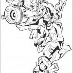 דף צביעה רובוטריקים 26
